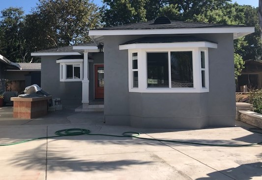 ACCESSORY DWELLING UNIT recently completed exterior